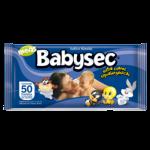 Babysec Toallitas Húmedas - 50 unidades