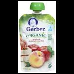 Gerber Organic 2nd Foods Manzanas & Duraznos