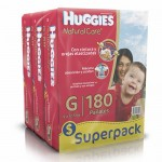 Huggies Natural Care G 180 unidades
