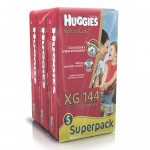 Huggies Natural Care XG 144 Unidades