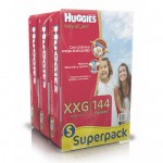 Huggies Natural Care XXG 144 unidades