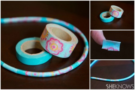 washi-tape-headband