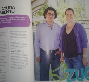 Reportage Zuga en Revista City