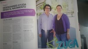 Reportage Zuga en Revista City